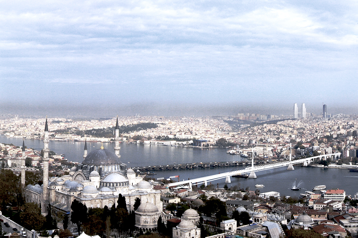 Aerial Photo Istanbul
