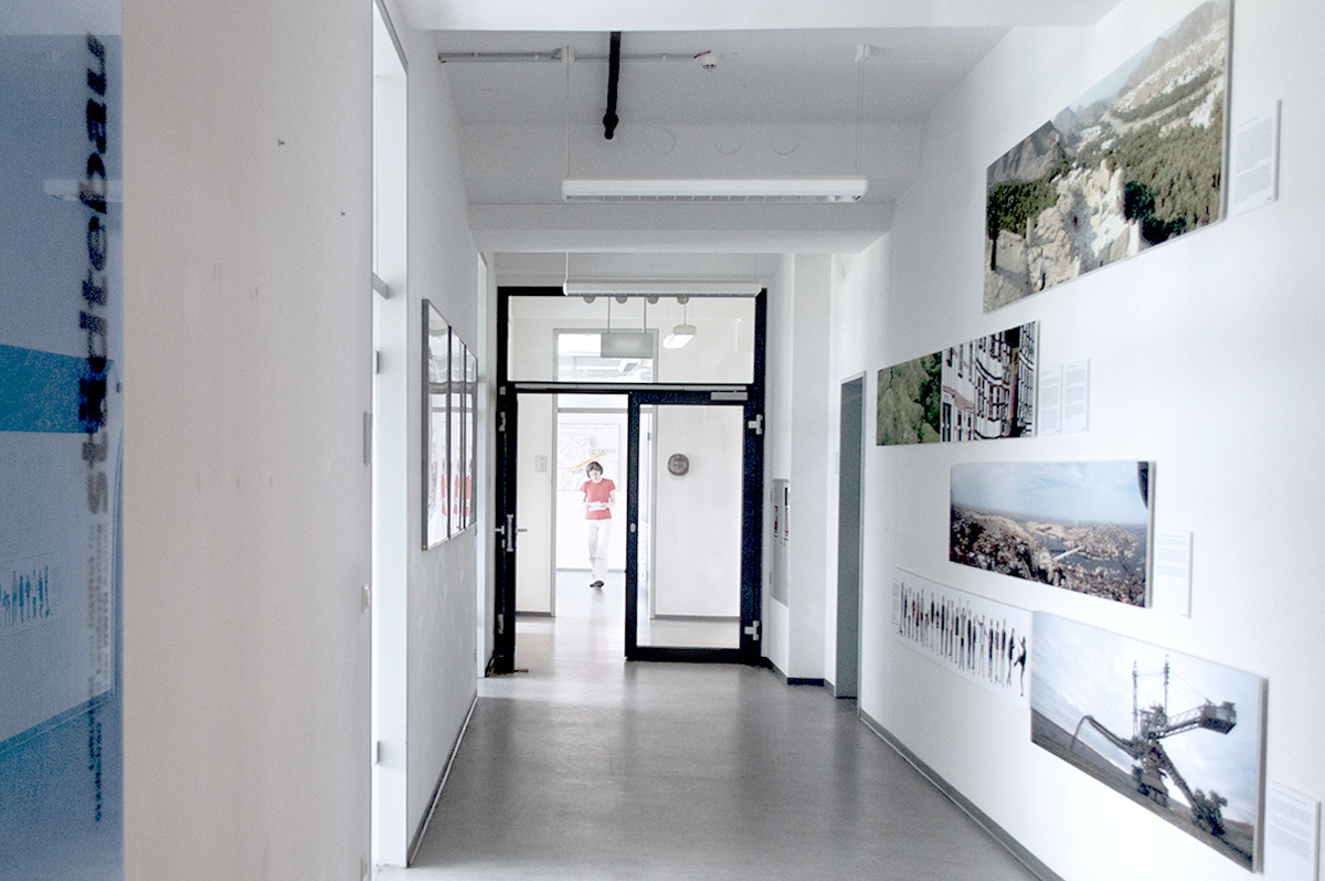 Picture of the institute corridor