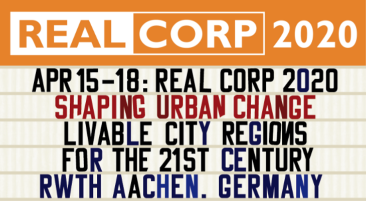 Text: REAL CORP - SHAPING URBAN CHANGE LIVABLE CITY REGIONS FOR THE 21ST CENTURY