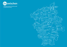 Various maps of the Rhine basin, borders, traffic, forests, settlement areas, waters